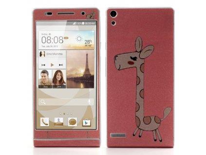 Nálepka (žirafa) pro Huawei Ascend P6