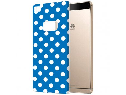 Plastové pouzdro TVC s puntíky pro Huawei P8 (Huawei Ascend P8)