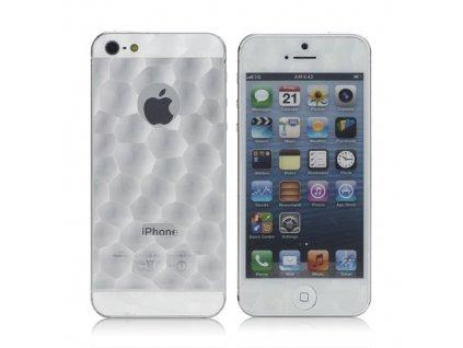 Ochranná fólie s 3D efektem pro Apple iPhone 5/5S