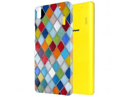 "Plastové pouzdro TVC ""Mozaika"" pro Lenovo A7000/Lenovo K3 Note"