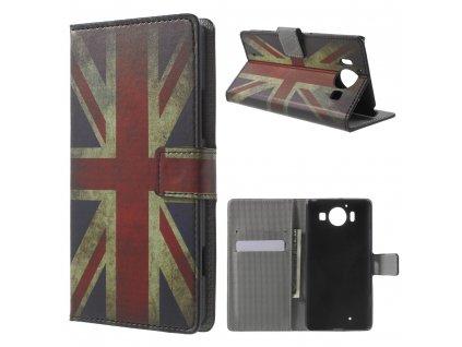 Pouzdro s britskou vlajkou pro Microsoft Lumia 950