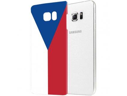 """Plastové pouzdro TVC """"vlajka ČR"""" pro Samsung Galaxy Note 5"""