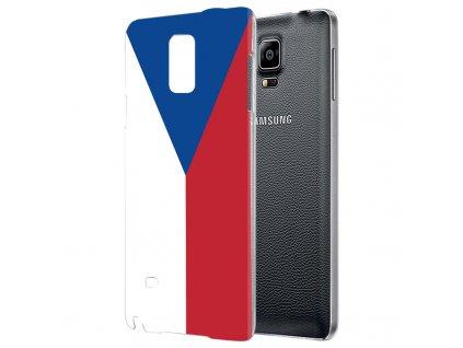 """Plastové pouzdro TVC """"vlajka ČR"""" pro Samsung Galaxy Note III/Note 3"""