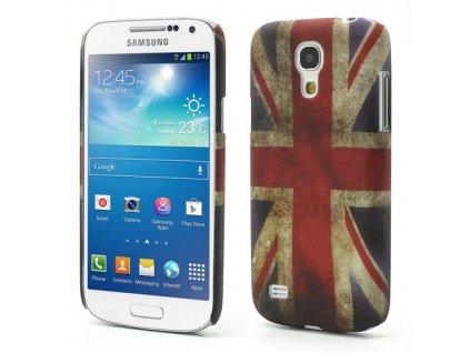 Plastové pouzdro TVC s britskou vlajkou pro Samsung Galaxy S4 Mini