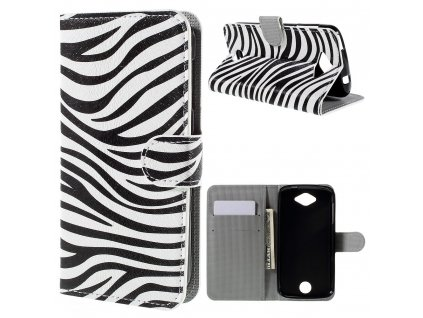 Koženkové pouzdro TVC Zebra pro Acer Liquid Z530