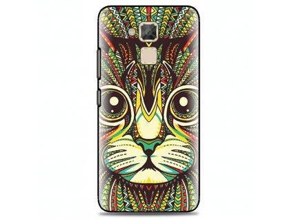 "Pouzdro TVC ""Kočka"" pro Asus Zenfone 3 Max ZC520TL"