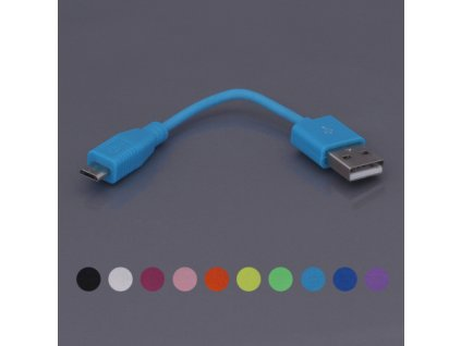 Cestovní microUSB kabel pro mobilní telefon