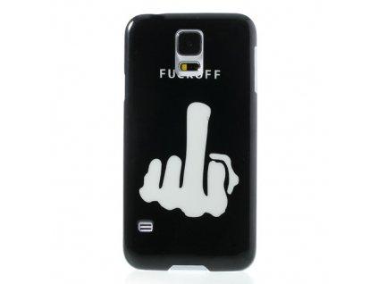"Plastové pouzdro TVC ""Fuck Off"" pro Samsung Galaxy S5"