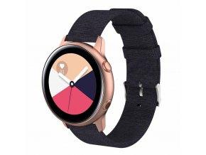 Řemínek TVC Canvas pro Samsung Galaxy Watch Active 20 mm