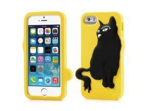 Pouzdro s kočkou pro Apple iPhone 5/5S