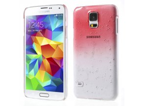 Pouzdro s kapkami deště pro Samsung Galaxy S5