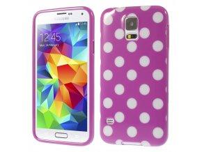Puntíkované pouzdro pro Samsung Galaxy S5