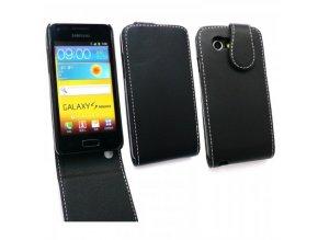 Koženkové pouzdro pro Samsung Galaxy S Advance