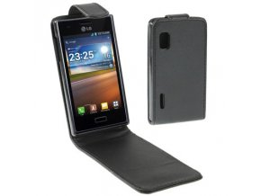 Koženkové pouzdro TVC FlipCase pro LG Optimus L5