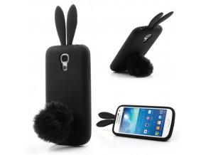 Gumové TVC králičí pouzdro pro Samsung Galaxy S4 Mini