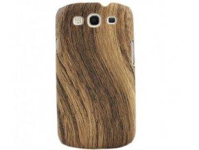 Plastové pouzdro s motivem dřeva pro Samsung Galaxy S3