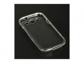 2-dílné průhledné plastové pouzdro pro Samsung Galaxy S3