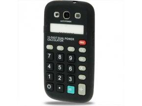 Silikonové pouzdro s motivem kalkulačky pro Samsung Galaxy S3