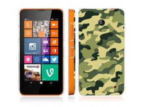 """Plastové pouzdro TVC """"Maskáče"""" pro Lumia 630"""