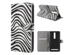 Koženkové pouzdro TVC Zebra pro Asus Zenfone 2 (ZE551ML)