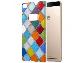"Plastové pouzdro TVC ""Mozaika"" pro Huawei P8 (Huawei Ascend P8)"