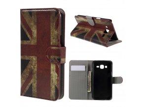 Pouzdro s britskou vlajkou pro Samsung Galaxy J5