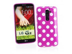 Puntíkované pouzdro pro LG G2 D801