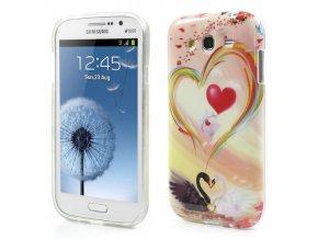Pouzdro se srdíčkem pro Samsung Galaxy Grand Duos
