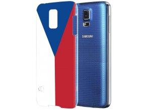 Plastové pouzdro TVC s českou vlajkou pro Samsung Galaxy S5 Mini