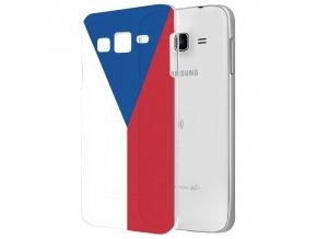 """Plastové pouzdro TVC """"vlajka ČR"""" pro Samsung Galaxy J5 SM-J500F"""