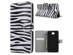 Koženkové pouzdro TVC Zebra pro Microsoft Lumia 650