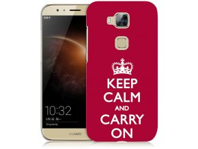 "Plastové pouzdro TVC ""Keep calm and carry on"" pro Huawei Honor 5X"