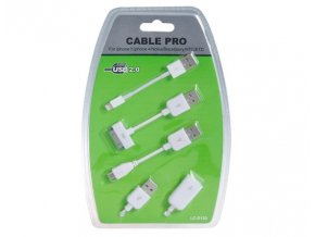 Sada kabelů pro Apple a ostatní zařízení