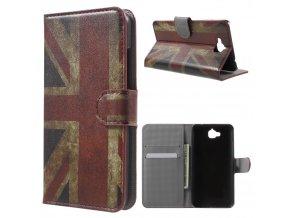 "Pouzdro TVC ""britská vlajka"" pro Huawei Y6 Pro/Enjoy 5"