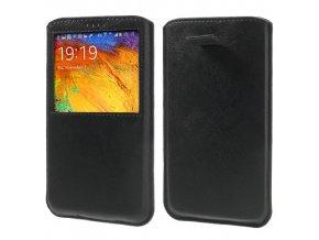 Pouzdro (kapsa) s okénkem pro Samsung Galaxy Note III/Note 3