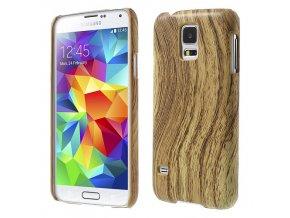 """""""Dřevěné"""" pouzdro pro Samsung Galaxy S5"""