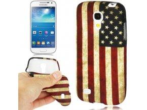 Pouzdro s americkou vlajkou pro Samsung Galaxy S4 Mini