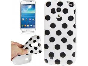 TPU puntíkované pouzdro TVC pro Samsung Galaxy S4 Mini