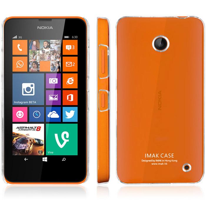 Průhledné pouzdro Imak pro Nokia Lumia 630