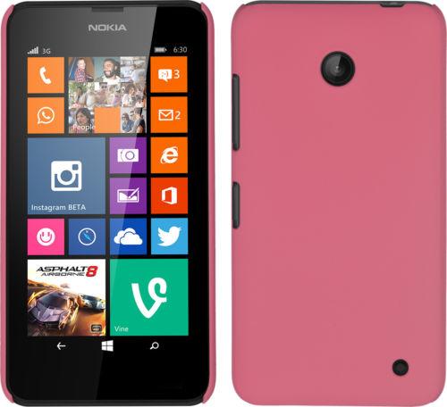 Plastové pouzdro pro Nokia Lumia 630 Barva: Růžová (světlá)