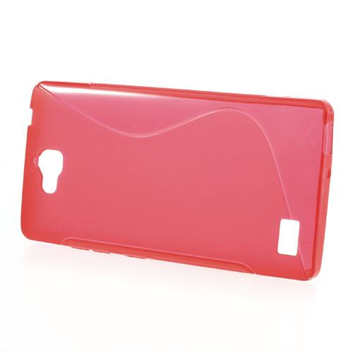 TPU pouzdro TVC pro Huawei Honor 3C Barva: Červená