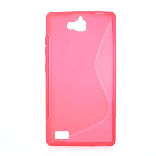 TPU pouzdro TVC pro Huawei Honor 3C Barva: Růžová (tmavá)