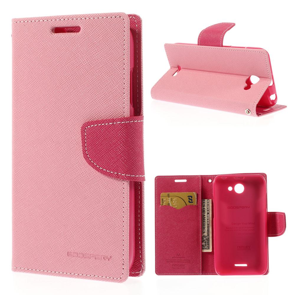 Pouzdro se stojánkem pro HTC Desire 516 Barva: Růžová