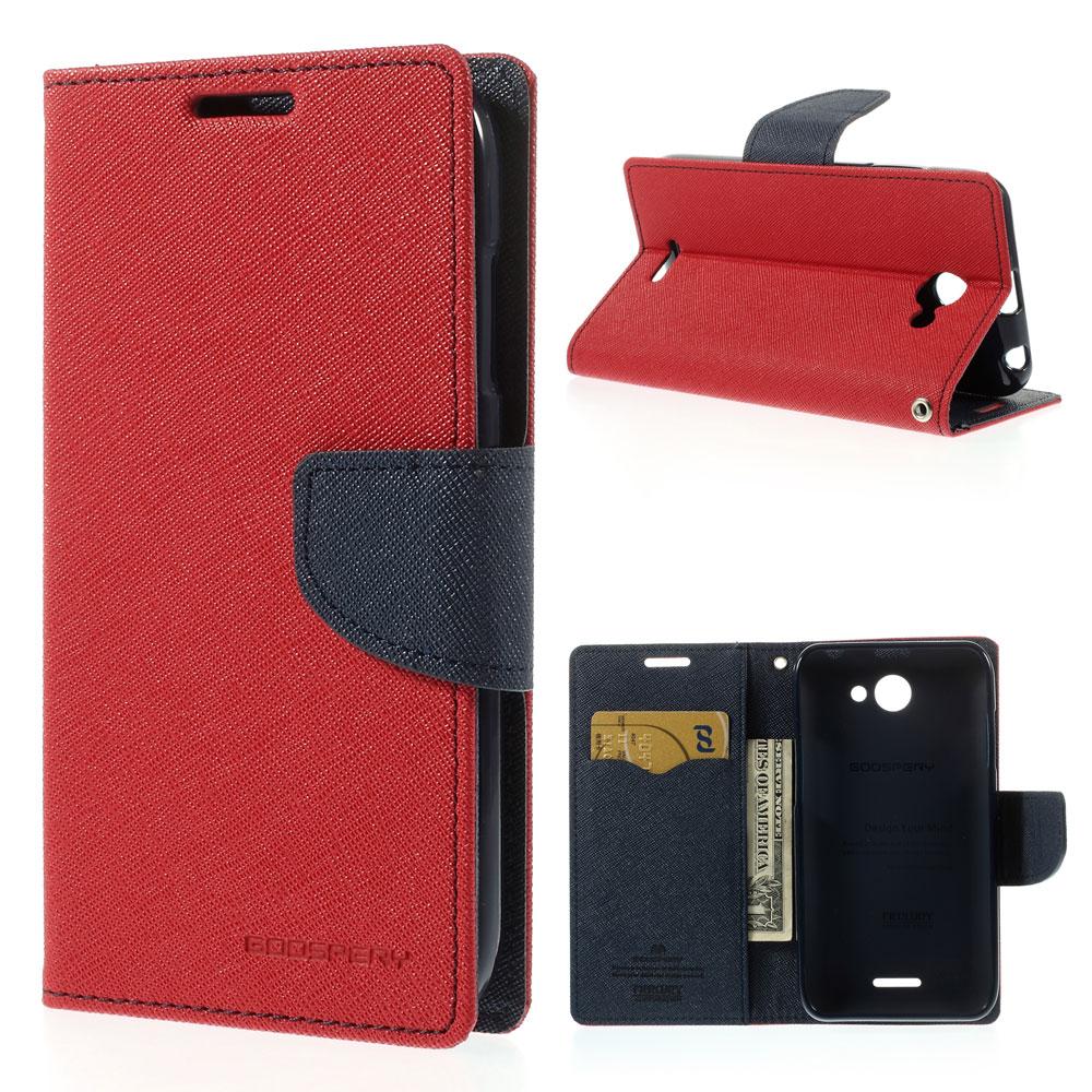 Pouzdro se stojánkem pro HTC Desire 516 Barva: Červená