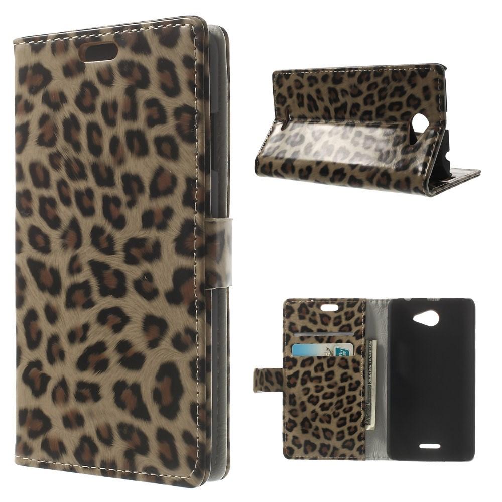 Koženkové pouzdro TVC Leopard pro HTC Desire 516