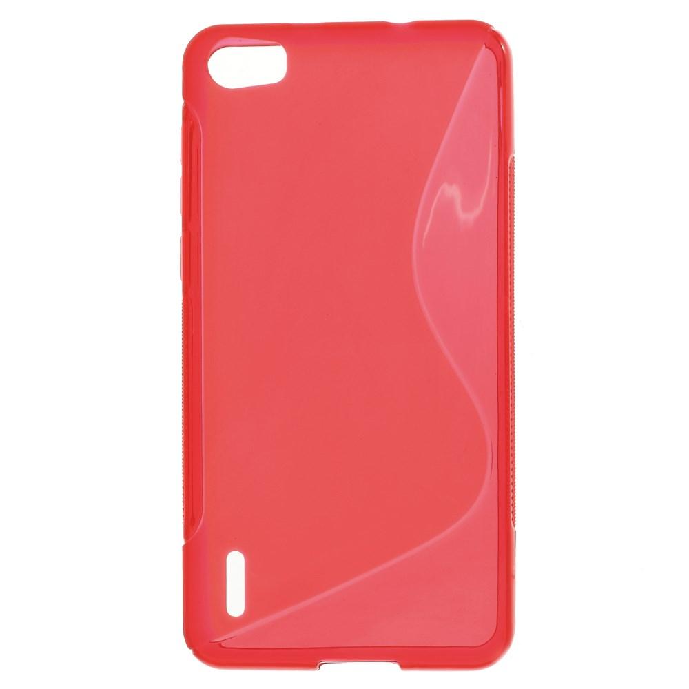 TPU pouzdro TVC pro Huawei Honor 6 Barva: Červená