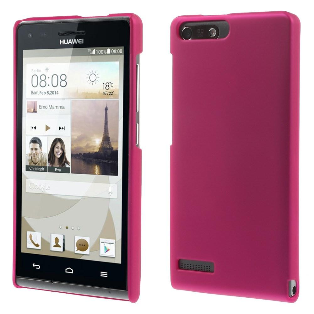 Plastové pouzdro TVC HardCase pro Huawei Ascend G6 4G Barva: Růžová (tmavá)