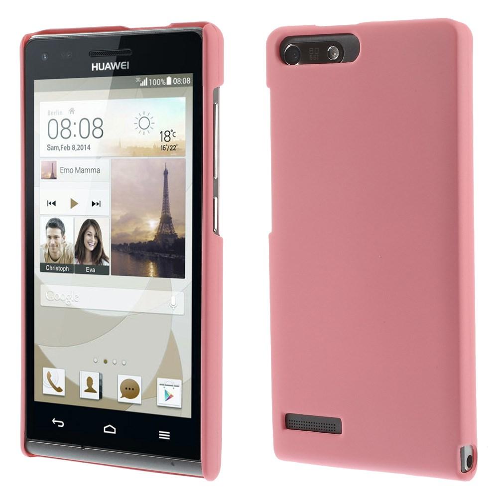 Plastové pouzdro TVC HardCase pro Huawei Ascend G6 4G Barva: Růžová (světlá)