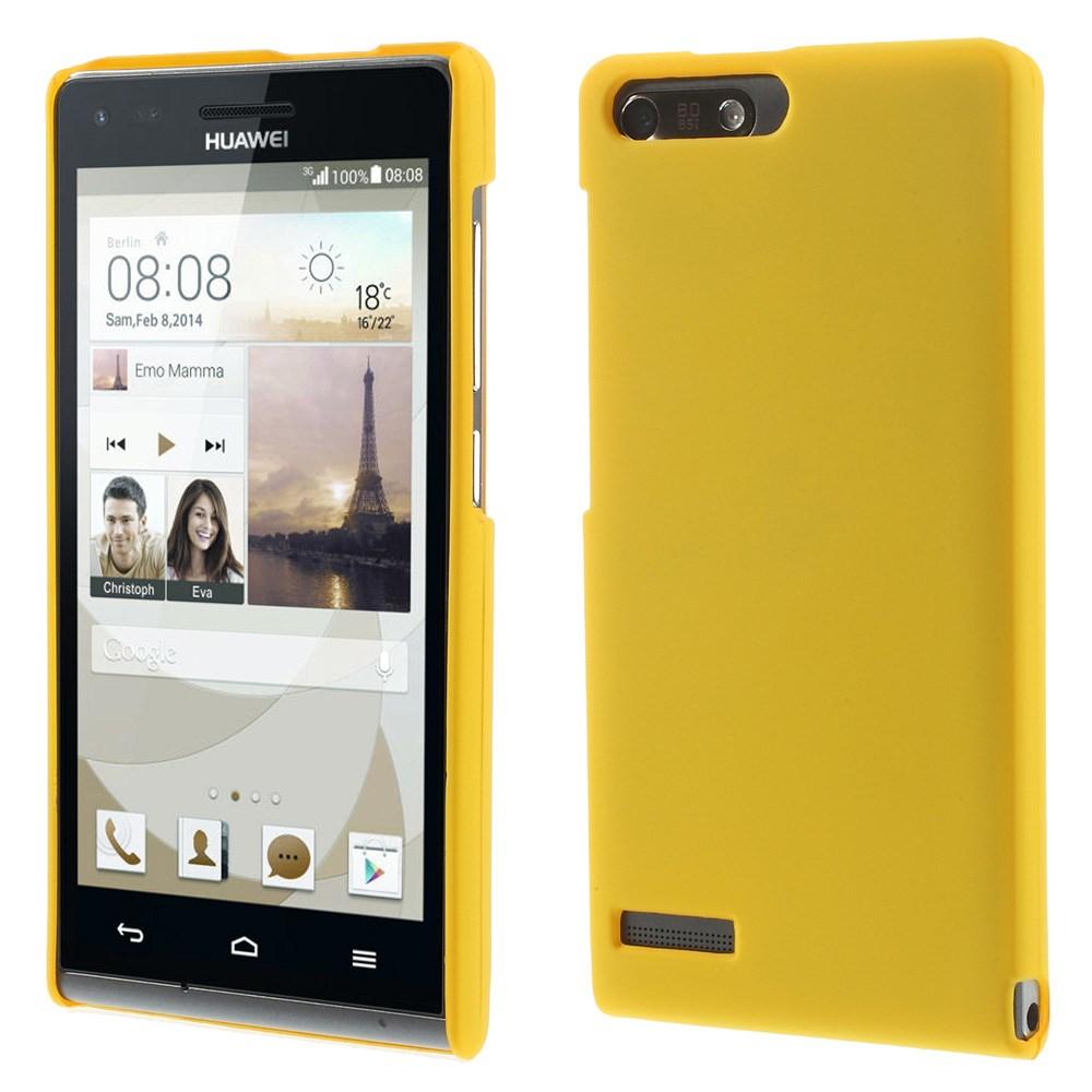 Plastové pouzdro TVC HardCase pro Huawei Ascend G6 4G Barva: Žlutá