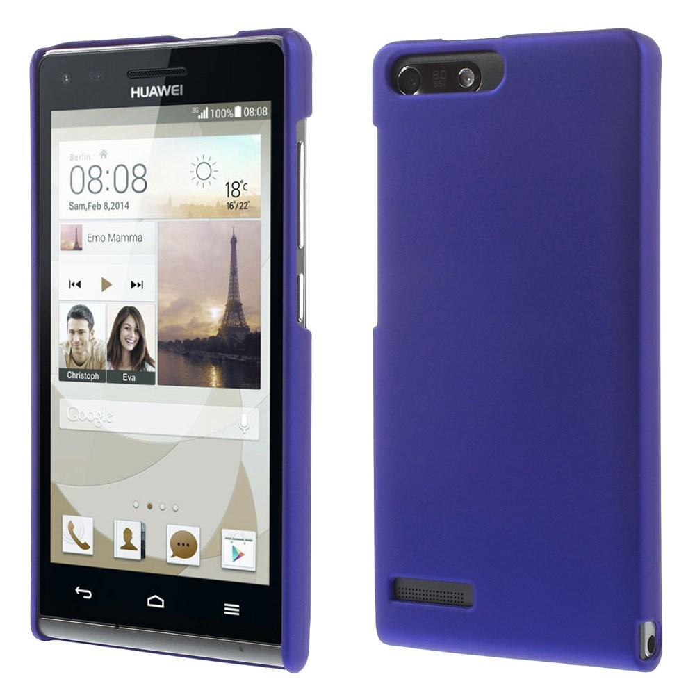 Plastové pouzdro TVC HardCase pro Huawei Ascend G6 4G Barva: Modrá (tmavá)